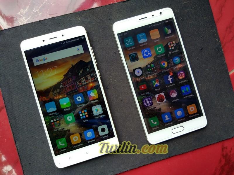 Desain Xiaomi Redmi Note 4 vs Xiaomi Redmi Pro