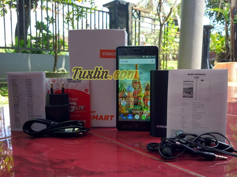 Paket Penjualan Evercoss Winner Y Smart U50