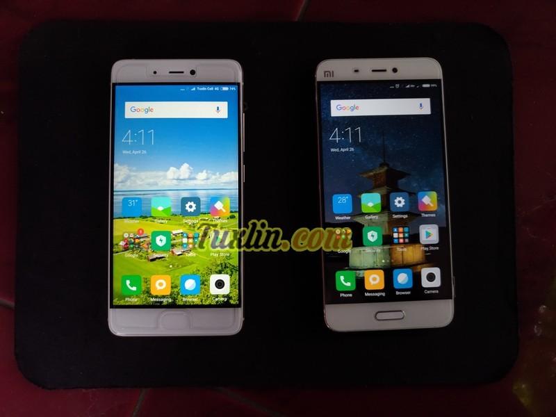 Layar Xiaomi Mi5, Xiaomi Mi 5S vs Xiaomi Mi 5C