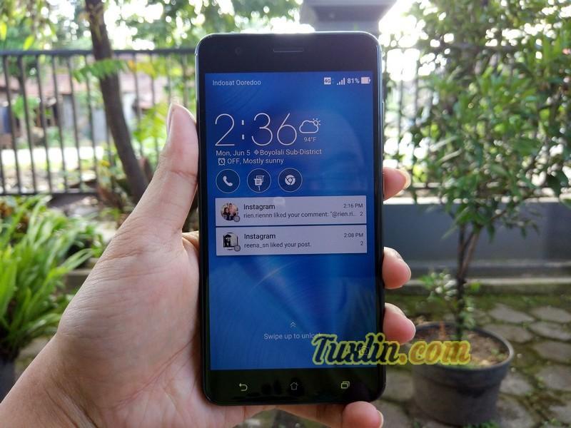 Menjajal Asus Zenfone Zoom S ZE553KL