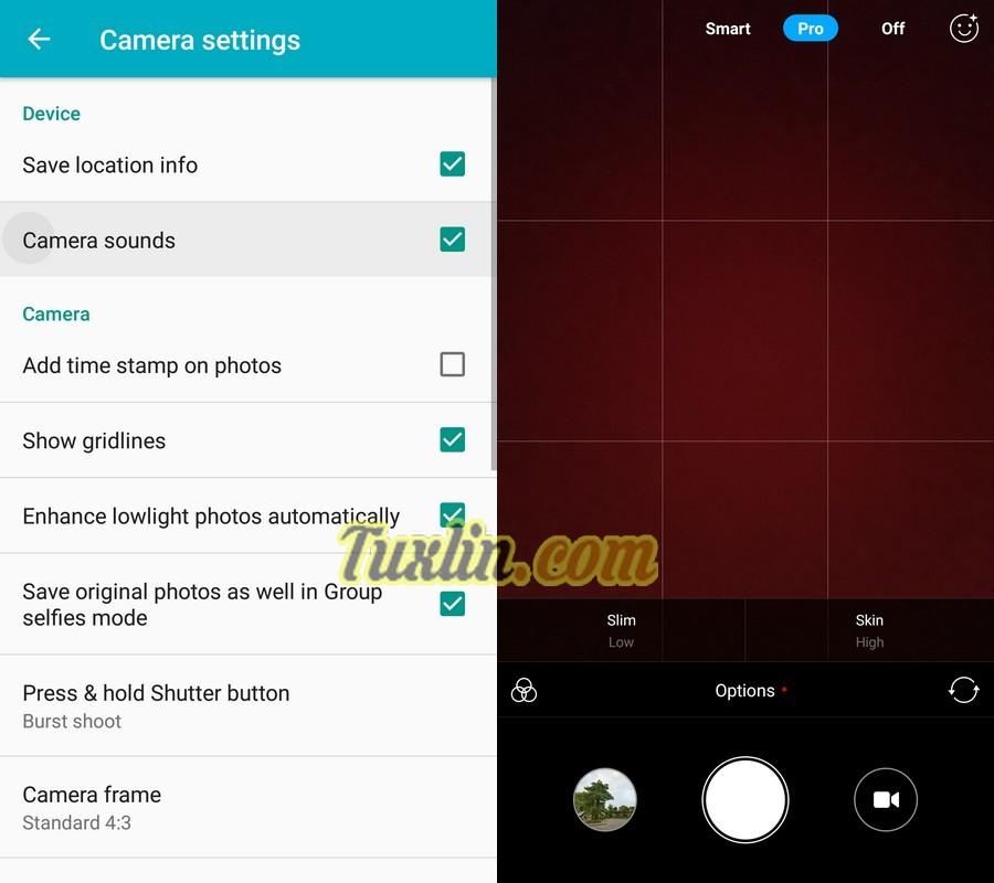 Antarmuka & Fitur Kamera Xiaomi Mi A1
