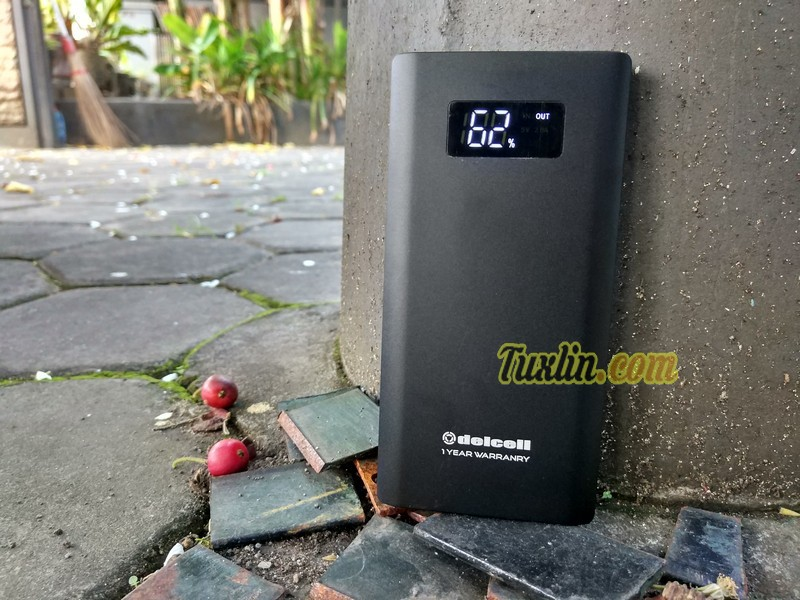 Review Delcell Tornado 10000mAh: Power Bank Quick Charge 3.0 Termurah!