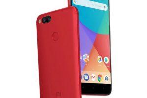 Cantiknya Xiaomi Mi A1 Red, Warna Merah yang Menawan