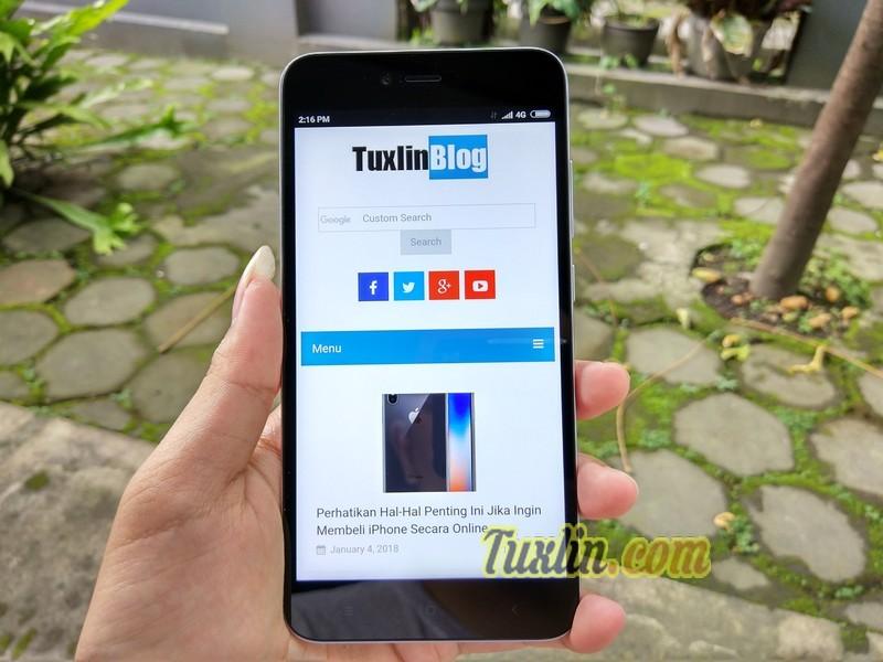 Hands On Xiaomi Redmi Note 5A Grey Garansi Resmi TAM