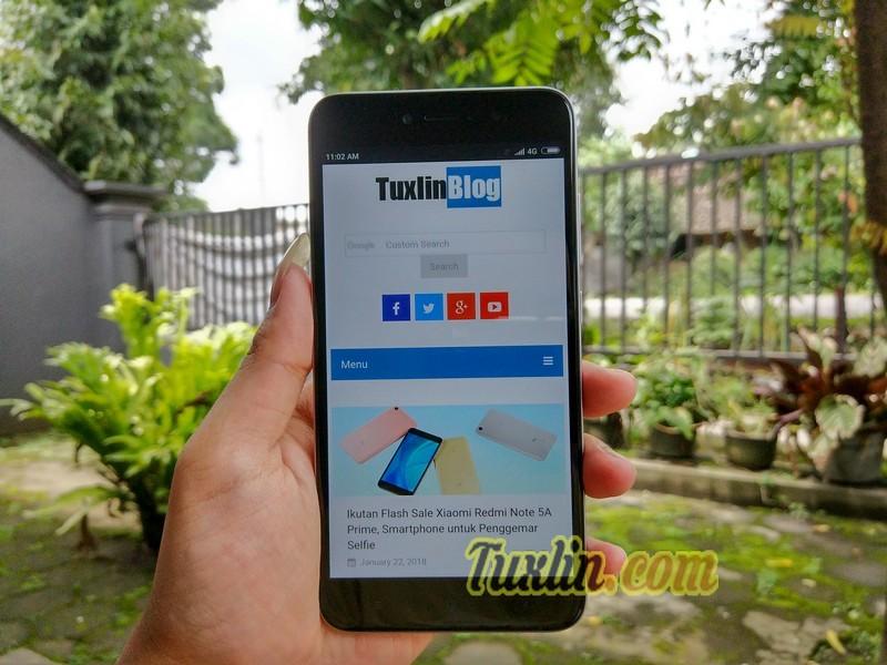 Menjajal Xiaomi Redmi Note 5A Prime: Smartphone Selfie Murah Meriah!