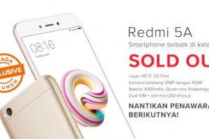 Sukses Mendapatkan Xiaomi Redmi 5A di Flash Sale Kedua!