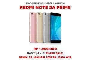 Redmi Note 5A Prime Segera Gebrak Indonesia, Jagoan Selfie Murah Xiaomi!