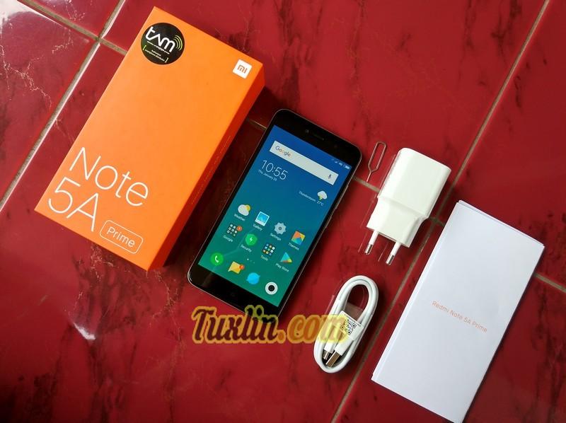 Paket PenjualanXiaomi Redmi Note 5A Prime