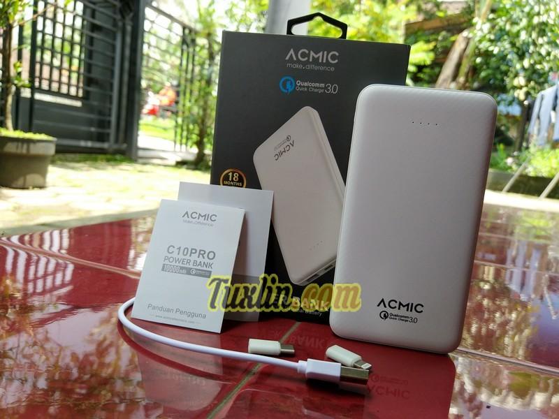 Paket PenjualanAcmic C10Pro 10.000mAh
