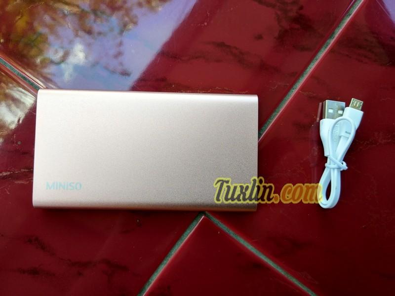 Paket PenjualanMiniso 4000mAh Power Bank