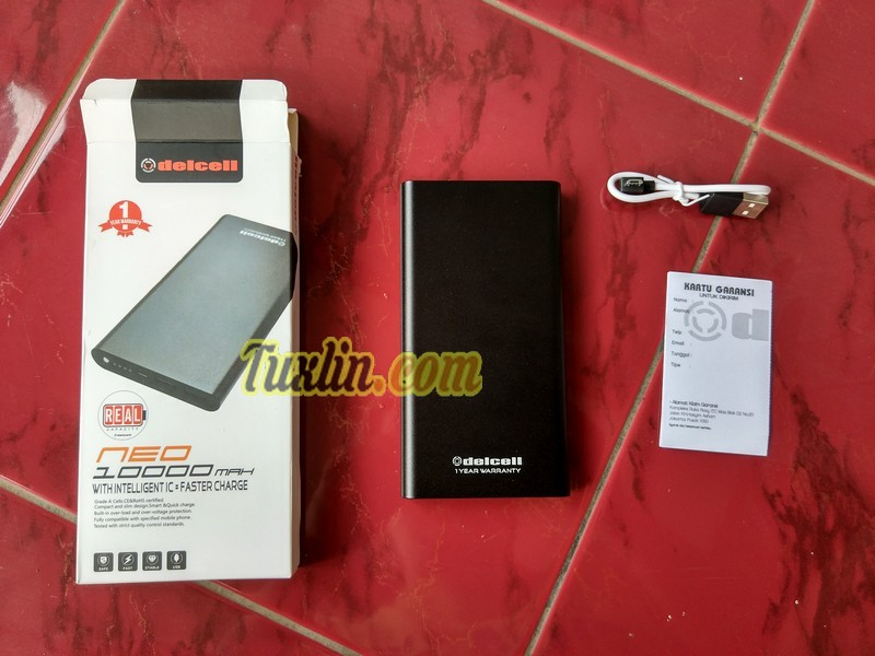Paket PenjualanDelcell Neo 10000mAh