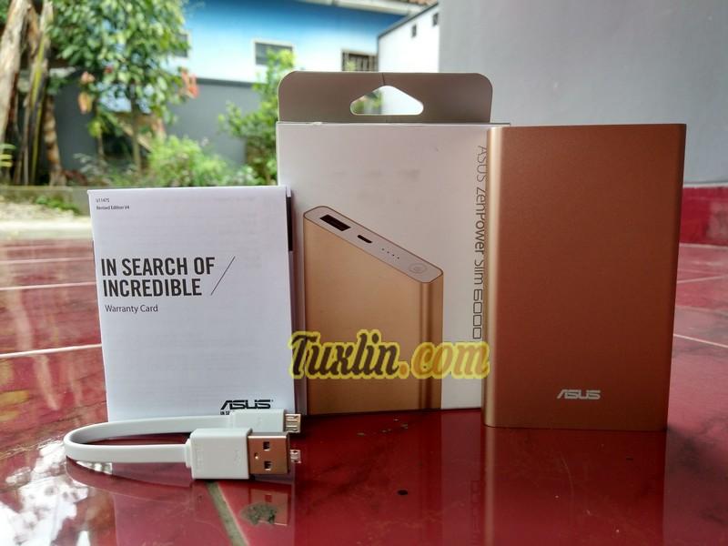 Paket PanjualanAsus Zenpower Slim 6000mAh (Pocket)