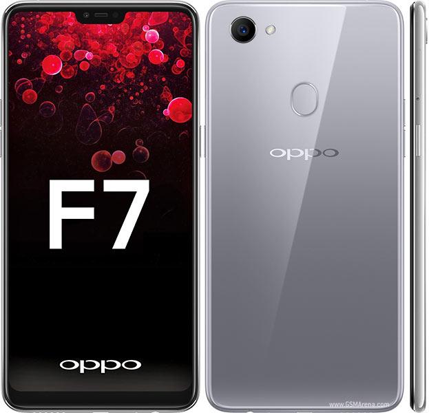 Oppo F7 Moonlight Silver