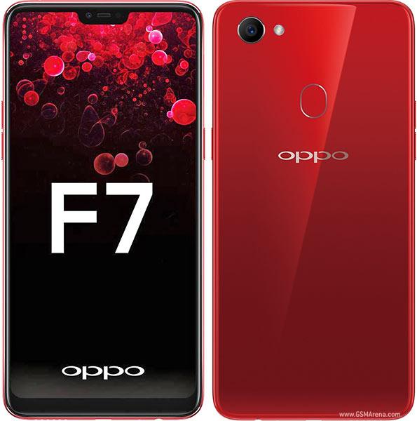 Oppo F7 Solar Red