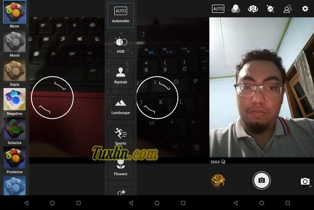 Antarmuka & FiturKamera Asus Zenfone Max Pro M1