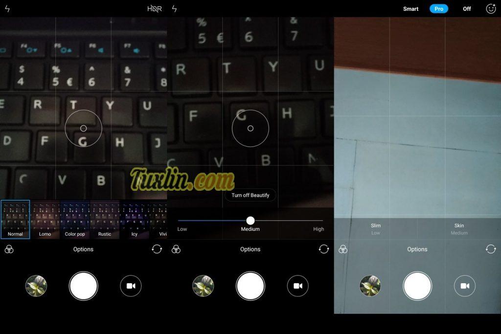 Antarmuka & FiturKamera Xiaomi Redmi 5 Plus
