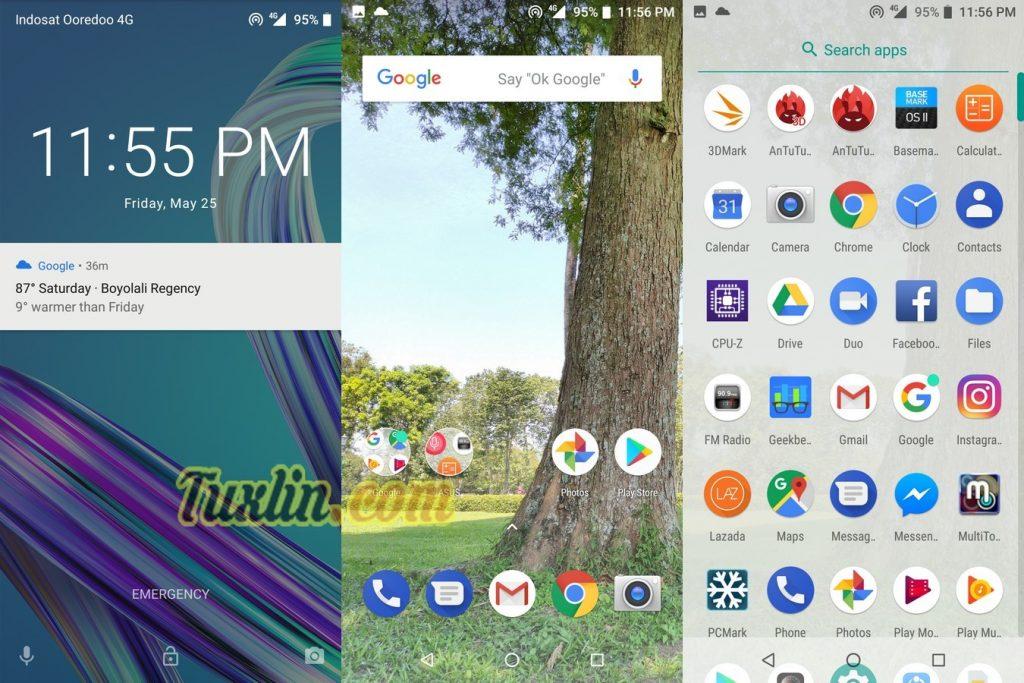 Antarmuka & FiturAsus Zenfone Max Pro M1