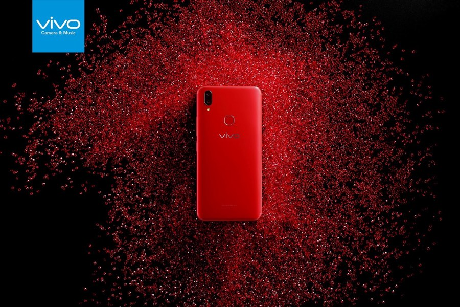 Vivo V9 True Red