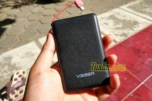 Review Veger V58 12.800mAh Power Bank, Kapasitas Nggak Real?